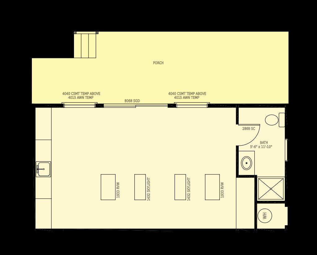 H13521 Floor Plan